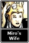 Miro's Unnamed Wife