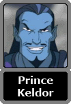Prince Keldor of the house of Miro (Skeletor)